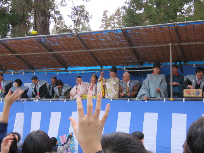 2020年大崎八幡宮節分祭3