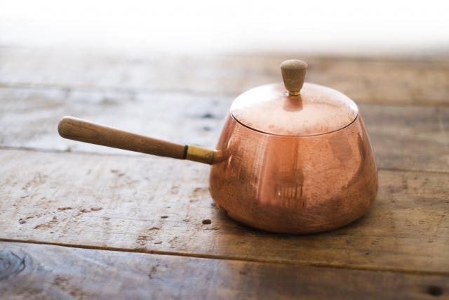 銅鍋で料理をワンランクアップ!