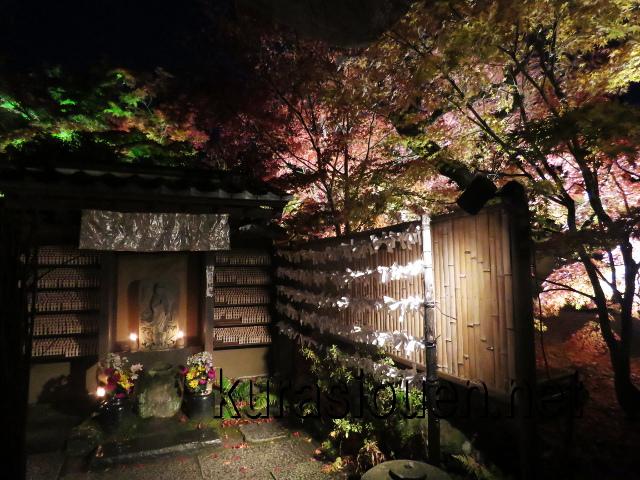 松島円通院の紅葉ライトアップ(縁結び観音)