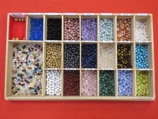 数珠つくりで選べる天然石