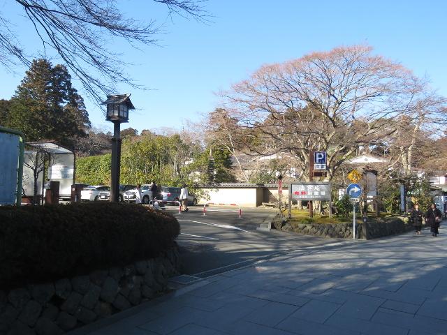 松島法雲山駐車場