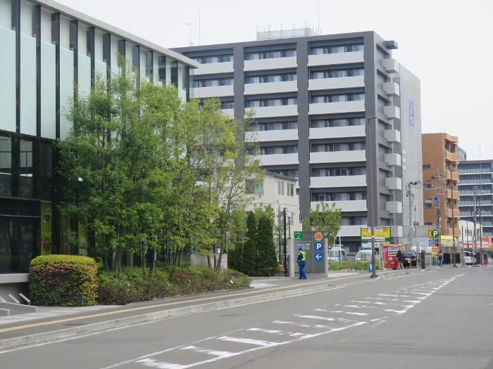 アンパンマンミュージアム仙台駐車場入口