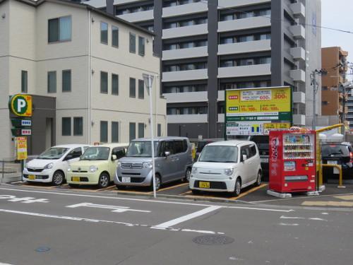 アンパンマンミュージアム仙台に近い鉄砲町中第2駐車場A