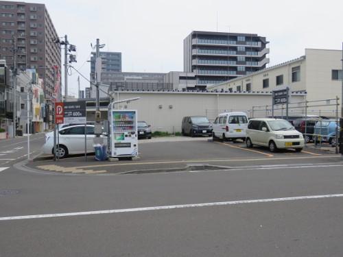 アンパンマンミュージアム仙台に近いDパーキング鉄砲町駐車場A