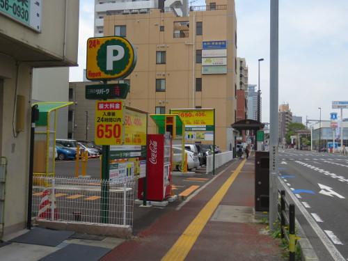 アンパンマンミュージアム仙台に近い仙台小田原弓ノ町第4駐車場A