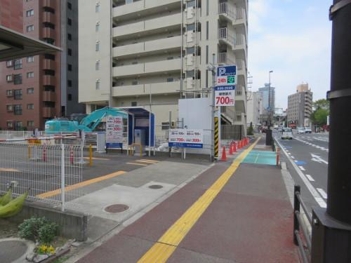 アンパンマンミュージアム仙台に近い金剛パーキングA