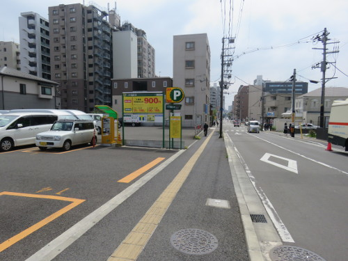 アンパンマンミュージアム仙台に近い仙台小田原山本丁駐車場A