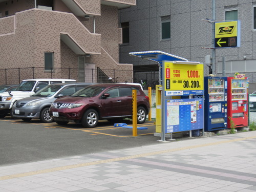 アンパンマンミュージアム仙台に近いタイムズ仙台車町駐車場A
