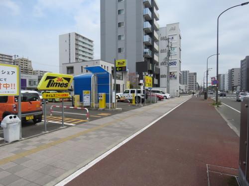 アンパンマンミュージアム仙台に近いタイムズ二十人町第2駐車場A