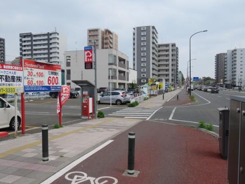 アンパンマンミュージアム仙台に近いシステムパーク二十人町駐車場A