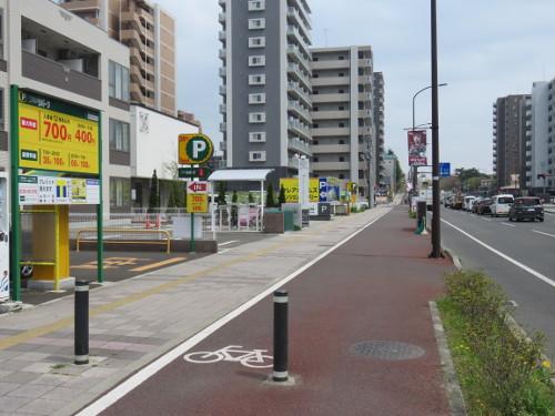 アンパンマンミュージアム仙台に近い仙台二十人町第4駐車場A