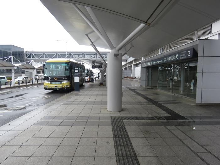 仙台空港からバスでうみの杜水族館へ