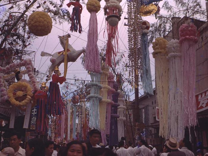 昭和28年の仙台七夕の写真3