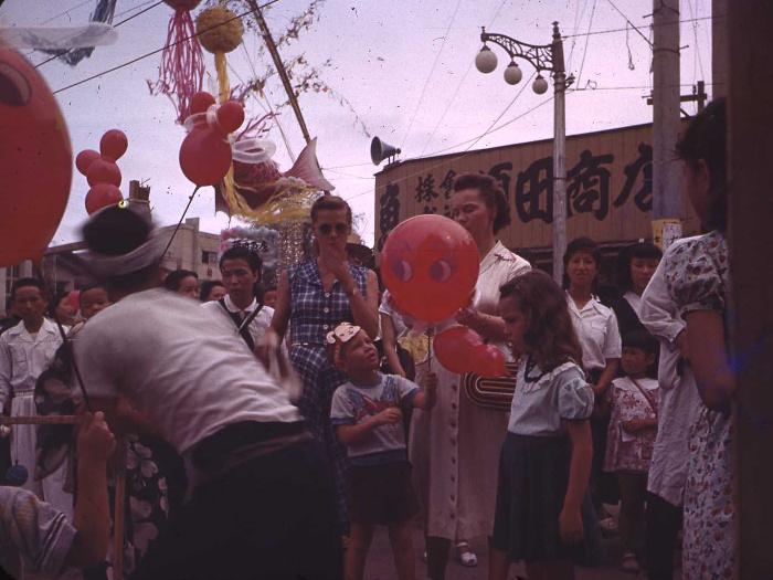 昭和28年の仙台七夕の写真5