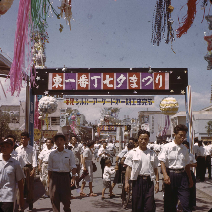 昭和29年の仙台七夕の写真5
