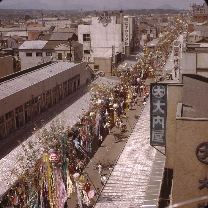 昭和29年の仙台七夕の写真6