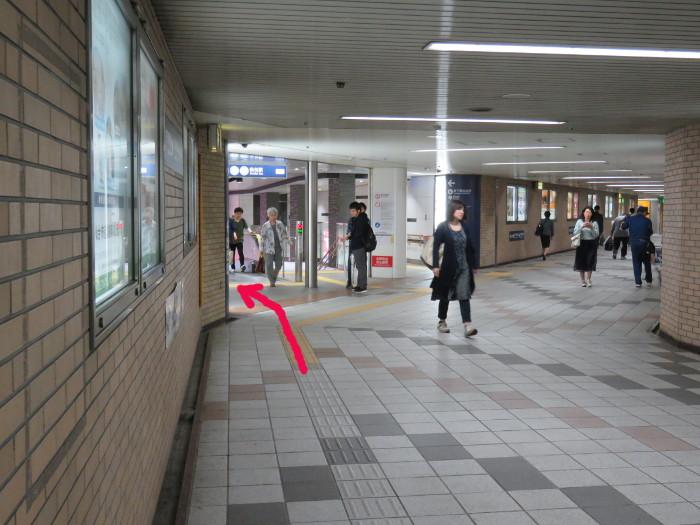 JR仙台駅から地下鉄仙台駅へ写真8