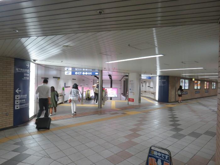 JR仙台駅から地下鉄仙台駅へ写真9