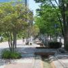 仙台駅2階からシャトルバス乗場へ13