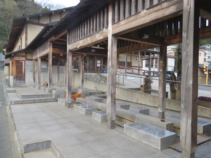遠刈田温泉 神の湯足湯2