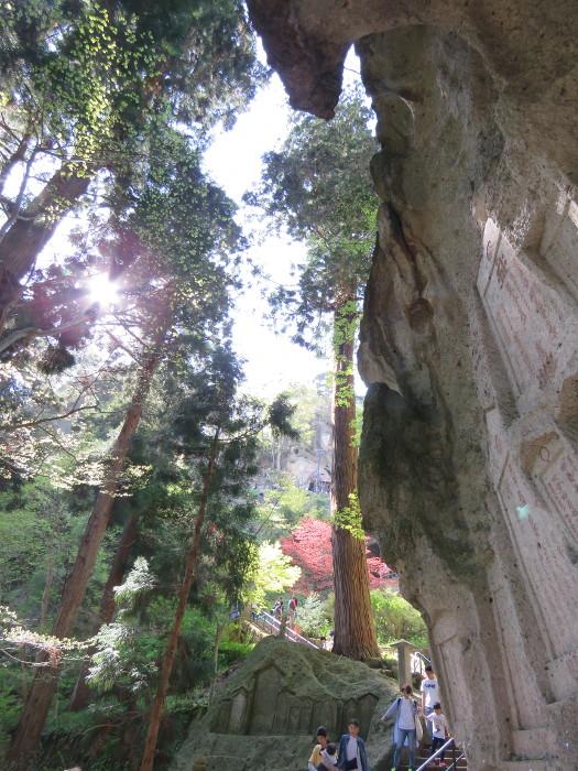 山寺の階段