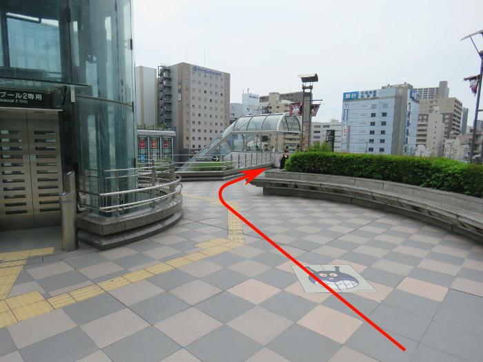 仙台駅から仙台アンパンマンミュージアムまでの道順写真6