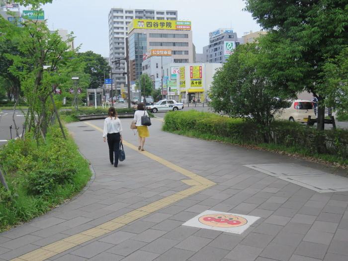 仙台駅から仙台アンパンマンミュージアムまでの道順写真8