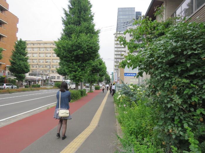 仙台駅から仙台アンパンマンミュージアムまでの道順写真11