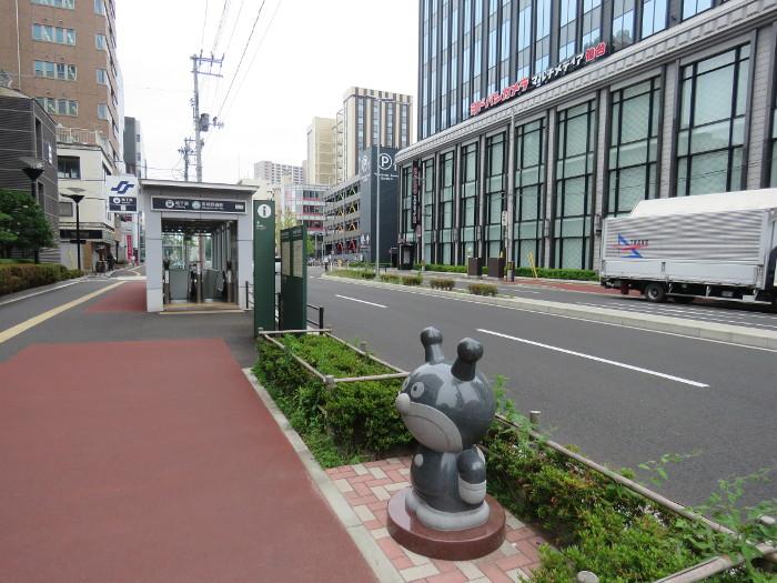 仙台駅から仙台アンパンマンミュージアムまでの道順写真17