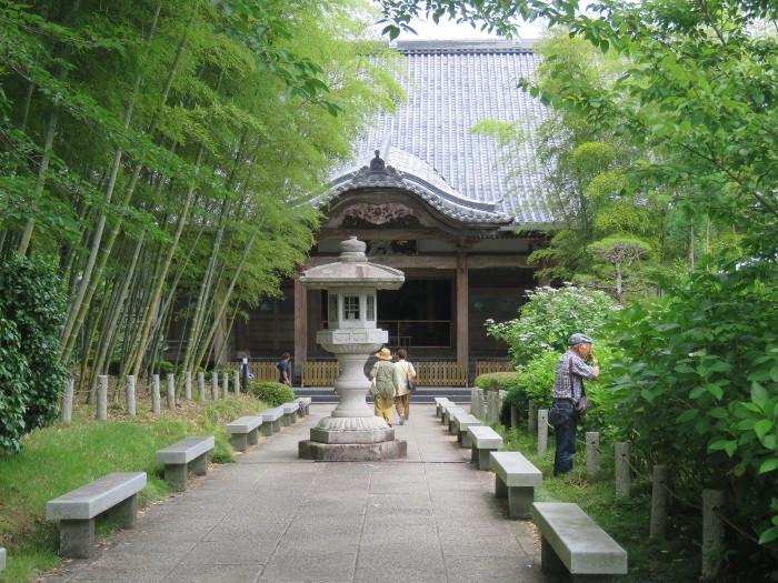 仙台のあじさい寺資福寺16