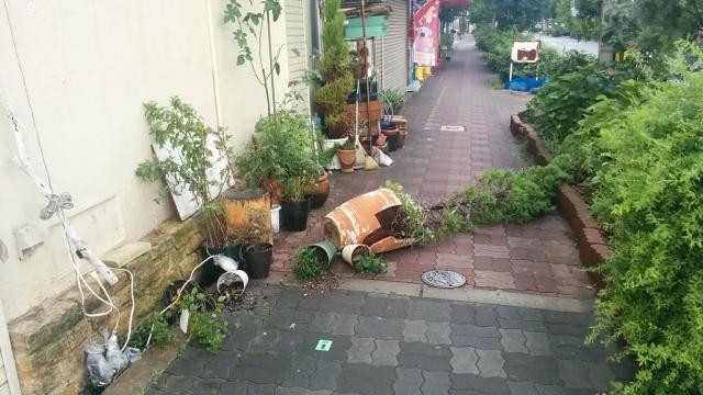 台風に備えで家の内外で準備すること