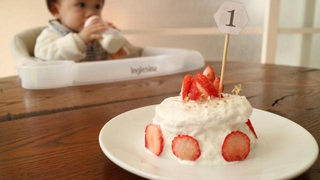 名古屋市で1歳の赤ちゃん用のケーキを売っているところは