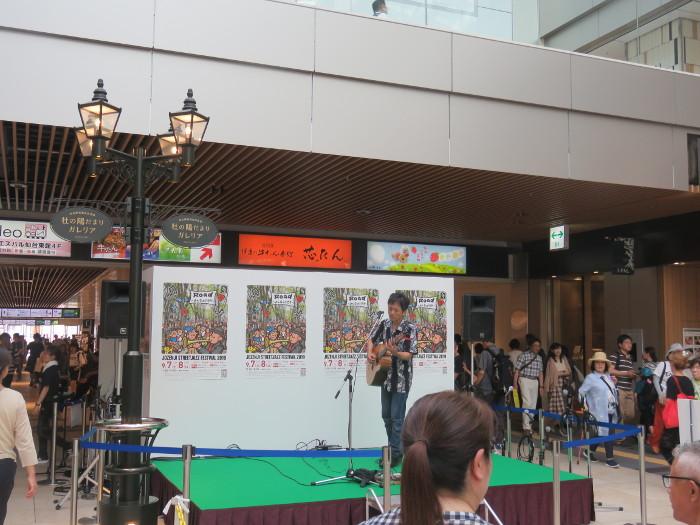 ジャズフェス 仙台駅東西自由通路