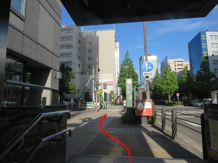 仙台駅からオクトーバーフェスト会場へ行き方17