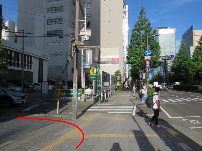 仙台駅からオクトーバーフェスト会場へ行き方18
