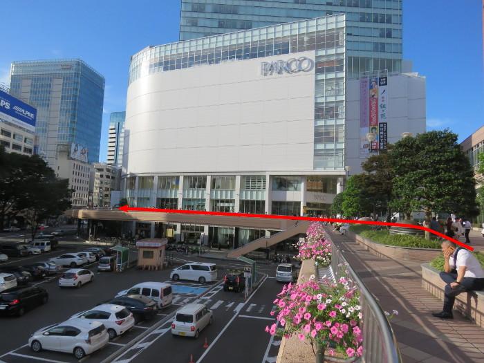 仙台駅からオクトーバーフェスト会場へ行き方2