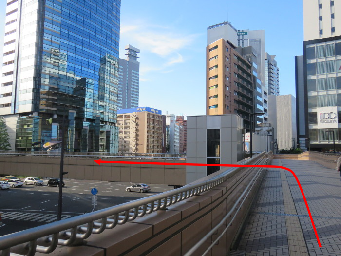 仙台駅からオクトーバーフェスト会場へ行き方6