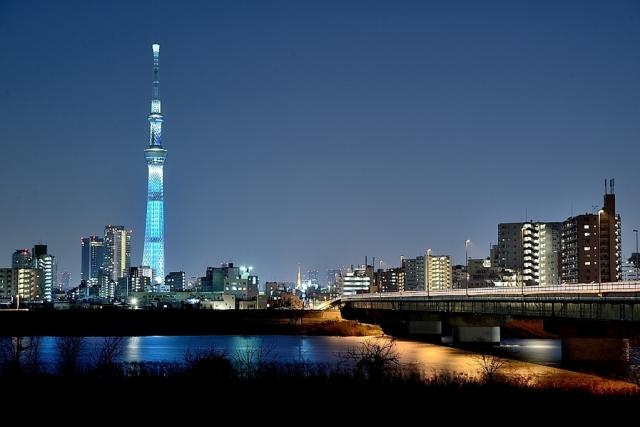 東京都内の夜景
