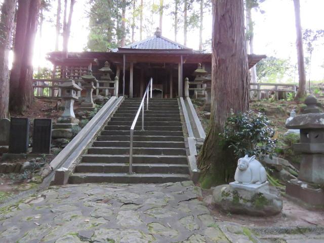 仙台初詣に鷲巣山文殊堂
