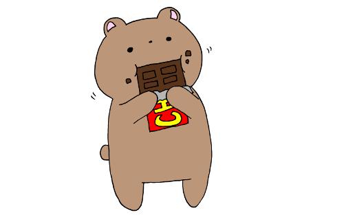 チョコは4歳になるまで与えないほうがよい!?