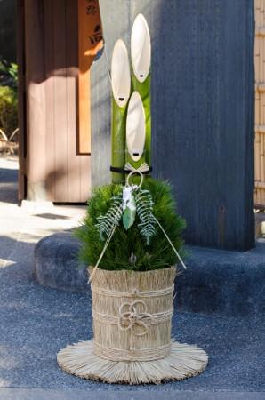 門松の竹を斜めに切る理由は?
