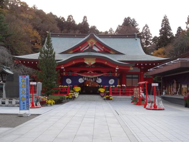 仙台初詣に宮城県護国神社