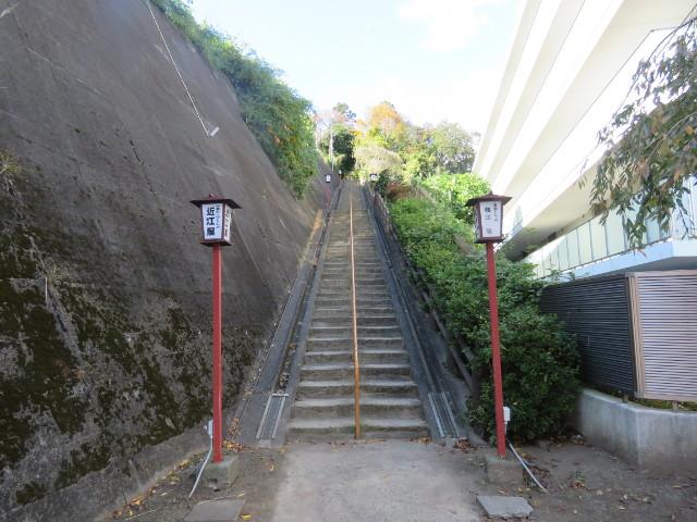 愛宕神社正面入口階段